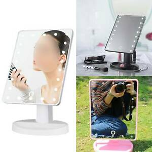 5X 22 LED MAGNIFYING TOUCH SCREEN LIGHT MAKE-UP COSMETIC TABLETOP VANITY MIRROR