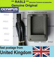 Genuine Olympus BCS-5 Charger OMD E-M10 MK 2 3 4,EM-5 MK 3,E-PL9 E-PL10,Stylus 1