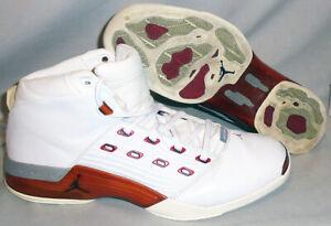 -NIKE- Air Jordan 17 OG Varsity Red Shoes/Sneakers - Size 14 - 302720-161