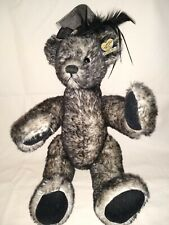 Annette Funicello Black/ Gray Miss Mae Jointed Collectible Bear