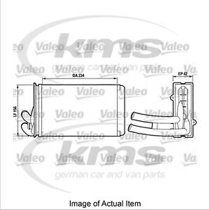 New Genuine VALEO Heater Radiator Matrix 812012 Top Quality