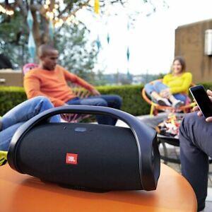 Brand New JBL Boombox 2 Portable Bluetooth Waterproof Audio Speaker - Black