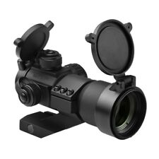 NcStar Black 1x35 Red Green Blue Dot Reticle Tactical Reflex Optic Lens Cover