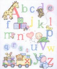Counted Cross Stitch Kit ~  Anchor / Coats Little Alphabet Sampler #ACS37