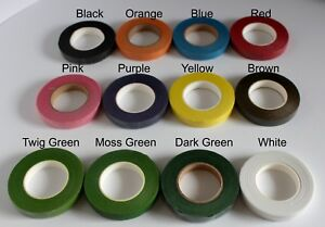 Floristry Tape, Green Floristry Tape, White Floristry Tape, Colored Floral tape