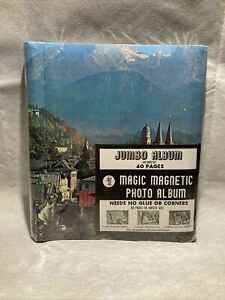MBI Jumbo Album 40 Pages Magic Magnetic photo album - Japan / Korea Vintage NEW