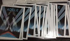 Official ADELE 2016 Lithograph Poster Tour LIMITED Rare 9/26 MSG NYC New York