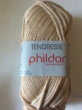Phildar Tendresse 50g Ball. Shade Beige x 5 Balls