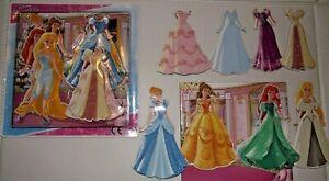Disney Princess Magnetic Dress Up Play Set Kids Girls Pocket Money Toy