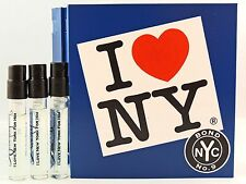 BOND NO 9 I LOVE NEW YORK FOR HIM 1.7ml .057fl oz x 3 SPRAY SAMPLE VIAL MINIS