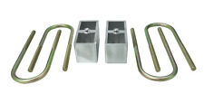 "Chevy S10 2"" Drop Blocks & UBolts - MaxTrac 430020 Rear Lowering Kit"