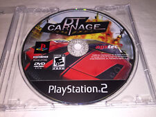 DT Carnage (Sony PlayStation 2, 2008) PS2 Game in Plain Case Excellent!