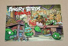 Angry Birds Comics Promo post card Postcard postal Gamescom
