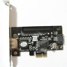 PCI-e to IDE SATA2.0 eSATA Combo Controller Card JMB363 Chip