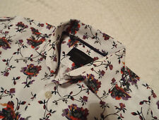 "DUCHAMP Mens Shirt 🌍 Size 14.5"" (CHEST 40"") 🌎 RRP £145+📮 FLORAL LIBERTY STYLE"