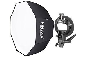 Neewer 32 inches/80 centimeters Octagonal Softbox with S-Type Bracket Holder