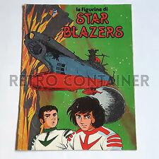 Album figurine STAR BLAZERS Flash Completamente vuoto Starblazers Robot