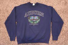 Vintage Auburn California University Men's XL Sweater