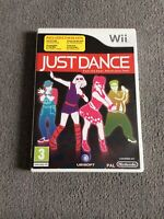 JUST DANCE NINTENDO Wii GAME NINTENDO WITH MANUAL PAL WII GAME