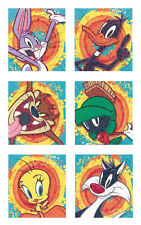 8 Sheets Stickers LOONEY TUNES Birthday Party Supplies Favors Bugs Taz Sylvester