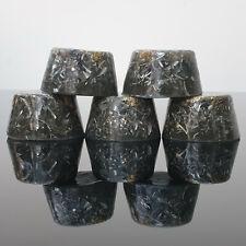 5  x Orgonite 23k Gold Towerbusters Orgone Orgones Oxide Shungite Orgonites
