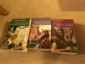 Fantasy Masterworks Novels Lankhmar Amber Fritz Leiber Roger Zelazny Used