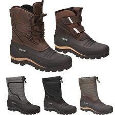 BOWS® Boots Herren Winterstiefel Schnee Stiefel Schuhe wasserdicht Snowboots