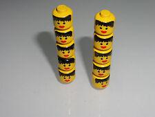Lego 6285 6286 6289 6274 pirates lot de 10 têtes femme minifig 3626apx2 TBE (kg)