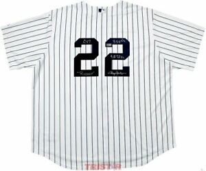 Roger Clemens Signed New York Yankees Jersey Rocket Cy 7 324 Ws 4672 Ks TRISTAR