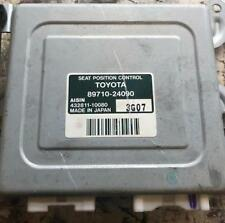 LEXUS SC430 SC 430 FRONT RIGHT ELECTRIC SEAT ECU CONTROL MODULE 89710-24090