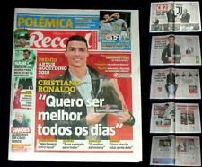 CRISTIANO RONALDO, RECORD complete NEWSPAPER, 10-page interview, DECEMBER 2018