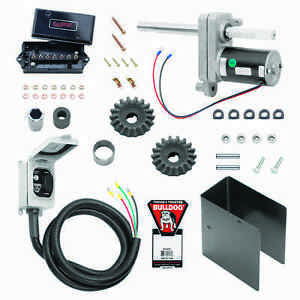 BULLDOG 1824180100 ELECTRIC POWERED TRAILER JACK KIT 2-SPEED 12000 lbs. NEW