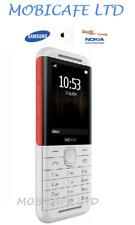 Nuovo di Zecca Nokia 5310 Mobile Telefono (2020) Dual SIM Sbloccato-Bianco/Rosso