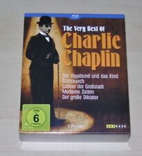 Charlie Chaplin The Very Best Of Blu-ray DVD Video