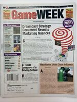 Video Game Week Retail Magazine Vintage April 21 1999 Dreamcast Mech Warrior