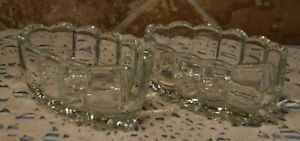 TWO PRINCESS HOUSE VINTAGE BUFFET SERVERS FOR SILVERWARE~EUC~COLLECTIBLE~SO CUTE