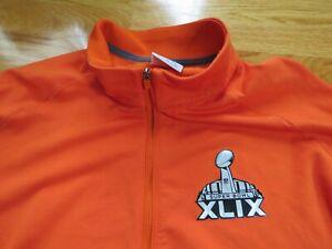 Nike SUPER BOWL XLIX NEW ENGLAND PATRIOTS vs SEATTLE SEAHAWKS XL Sweatshirt