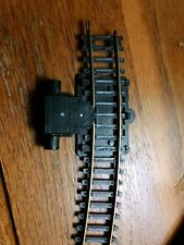 """Bachmann brass 18"""" R curve Code 100 track with accessories pickup wheel used"""
