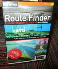 Route Finder: United Kingdom & Ireland 2Nd Edition Pc Cd-Rom, Win 95/98, Guc