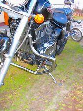 KAWASAKI VN 800 VULCAN STAINLESS STEEL CUSTOM CRASH BAR ENGINE GUARD WITH PEGS
