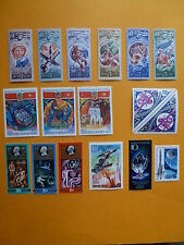 LOT 5227 TIMBRES STAMP AERONAUTIQUE ESPACE RUSSIE RUSSIA ANNEE 1977 - 1989