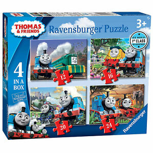 Ravensburger Puzzle: Thomas and Friends Big World Adventures 4 in a Box (06971)