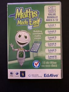 Maths Made Easy V2 - Ages 5-12 PC/MAC GAME