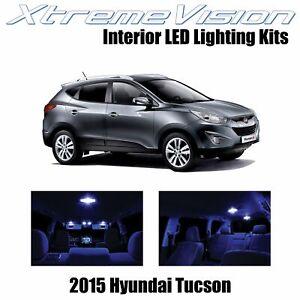 XtremeVision Interior LED for Hyundai Tucson 2015+ (8 PCS) Blue