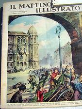 2 copie de Il mattino illustrato con Aurelio Galleppini Galep - anteguerra Tex
