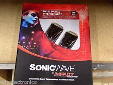 40297 DVI-D Digital Interconnect 10ft. SonicWave by Impact Acoustics (NEW)