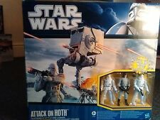 Star Wars Attack on Hoth 2010 Vintage Clone Wars- New Sealed Target Exclu. VHTF