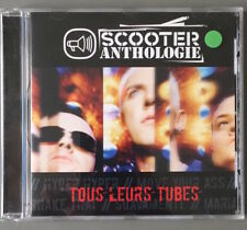 SCOOTER - ANTHOLOGIE - CD - SCORPIO MUSIC - TOUS LEURS TUBES - FRENCH FRANCE