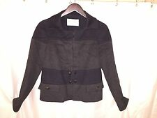 pre-loved authentic VALENTINO size 8 hiver 2008 Collection CASHMERE/WOOL jacket