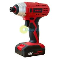 "Heavy Duty 18V Lithium Li-Ion 1/4"" Drive Cordless Impact Driver Screwdriver New"
